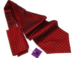 Red Ascot for men