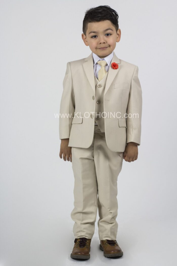 Kids Suit in Sand