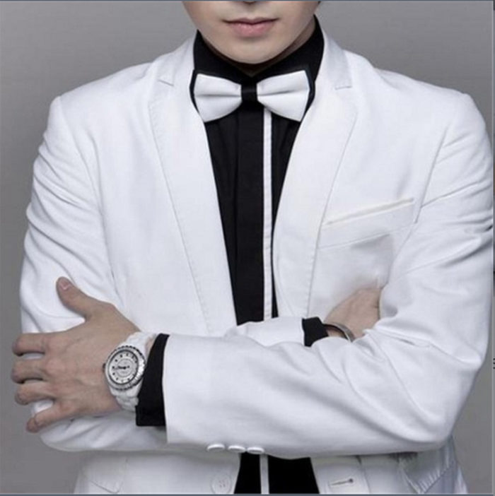 007 Bowties in Black or White