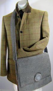 Himalaya cashmere hand bag for iPad