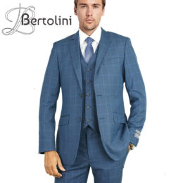 Bertolini windowpane suit