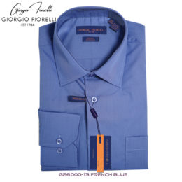 Giorgio Fiorelli French Blue Dress Shirt