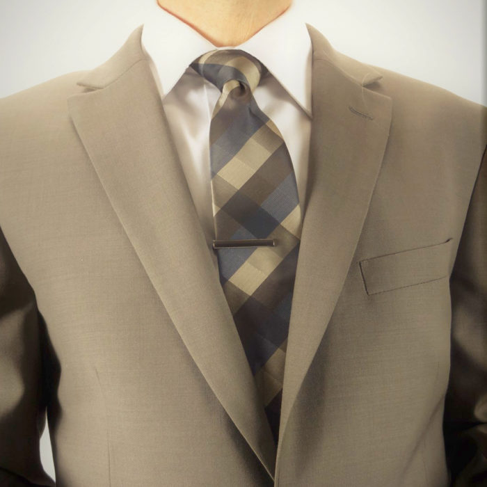 Mantoni business suit taupe