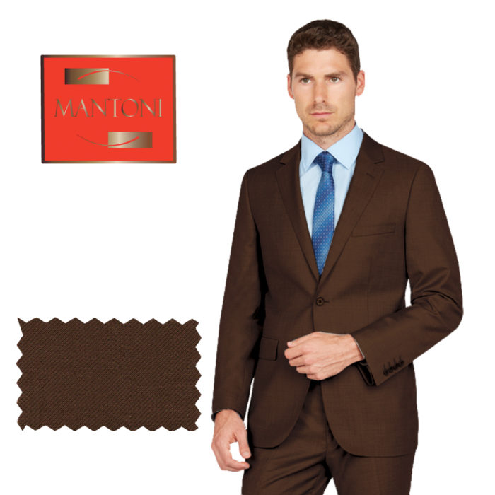Mantoni business suit Brown
