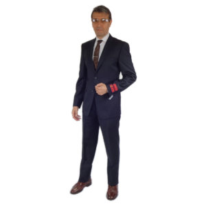 charcoal modern or slim fit wool suits
