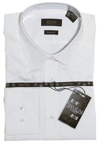 Mantoni wrinkle free dress shirts modern cut