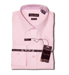 Giorgio Fiorelli pink wrinkle free dress Shirt
