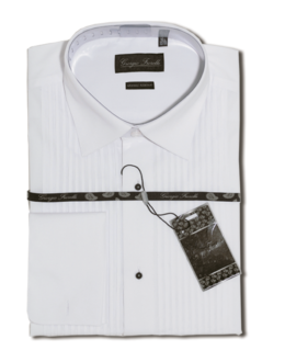 Giorgio Fiorelli white wrinkle free dress Shirt