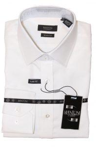 Mantoni cotton wrinkle free dress shirts