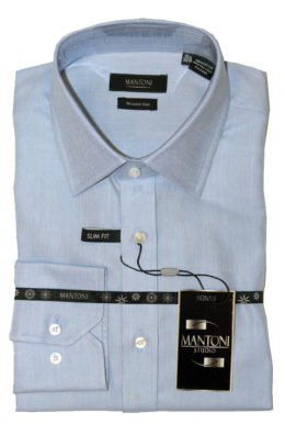Mantoni cotton wrinkle free dress shirts