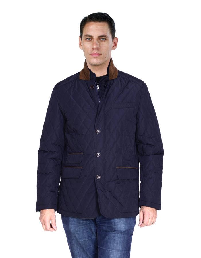 outerwear blue Mantoni jackets