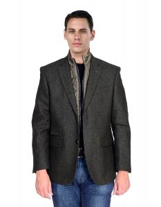 Outerwear sport jackets grey