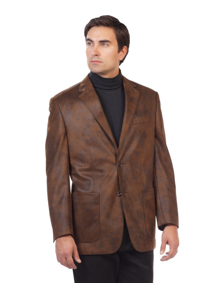 Outerwear sport jackets blazers brown