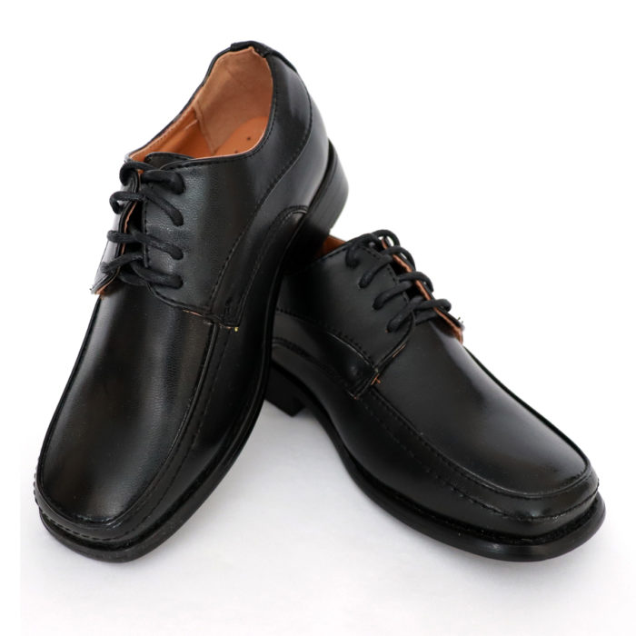 Kids lace dress shoes