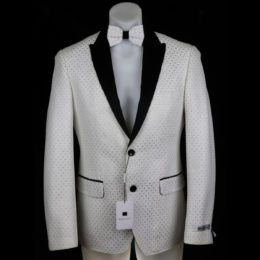 Giovanni Testi snake skin print jacket front view high fashion blazer
