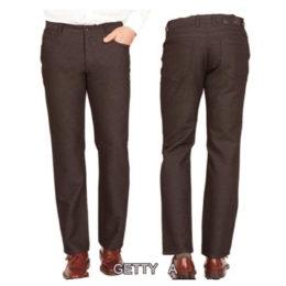 Brown Enzo denim jeans
