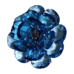 lapel flower blue men accessory