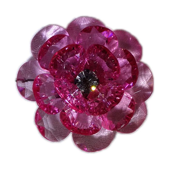 lapel flower purple men accessory