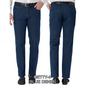 Enzo denim jeans Blue getty 4
