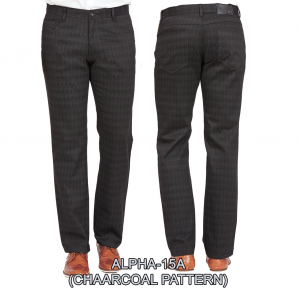 Enzo denim jeans charcoal alpha 15a