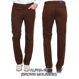 Enzo denim jeans Brown alpha 19