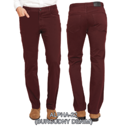 Enzo denim jeans Brown alpha 22