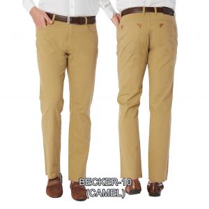 Enzo denim jeans camel becker 10