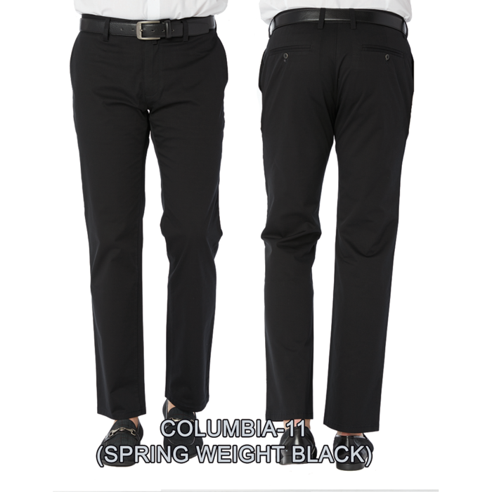 Enzo denim jeans Black flat front columbia 11