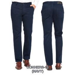 Enzo denim jeans Navy flat front conners 16