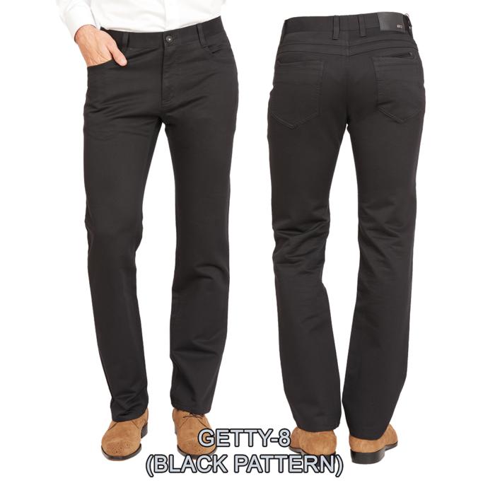 Enzo denim jeans Black pattern getty 8