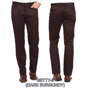 Enzo denim jeans dark burgundy getty 9