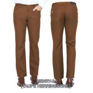 Enzo denim jeans taupe henry 2