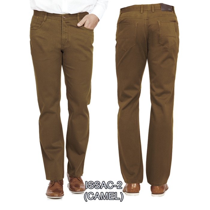 Enzo denim jeans camel isaac 2