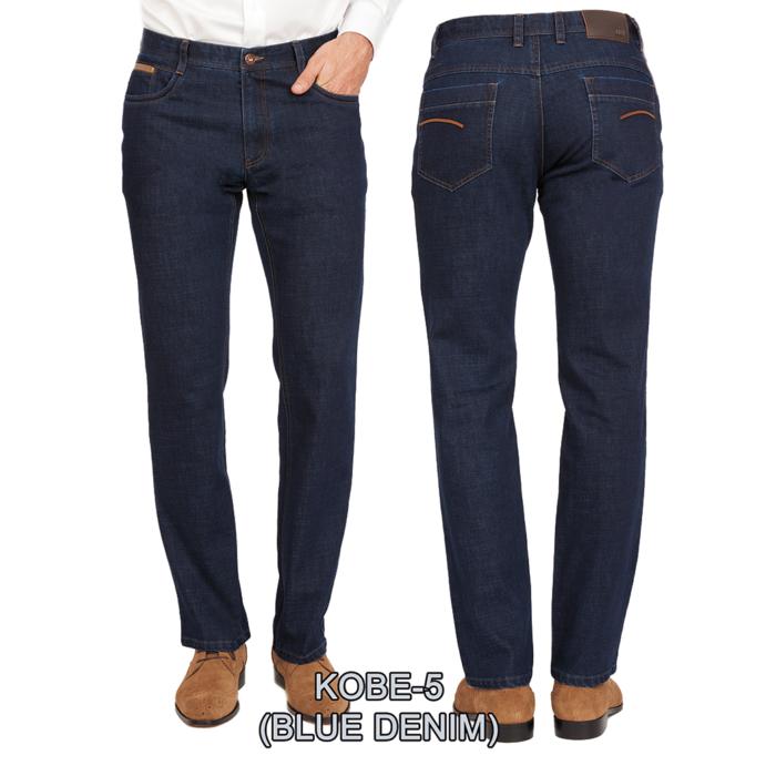 Enzo denim jeans washed blue kobe 5
