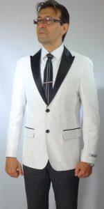 Moda Italy Giovanni Testi sports Jacket white