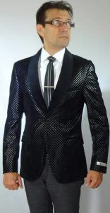 Giovanni Testi sports high fashion blazer B006 High Fashion Blazer
