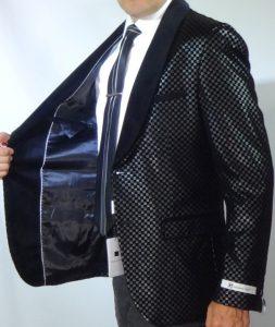 Giovanni Testi sports high fashion blazer B006 High Fashion Blazer lining