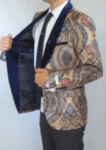 Giovanni Testi snake skin print jacket high fashion blazer