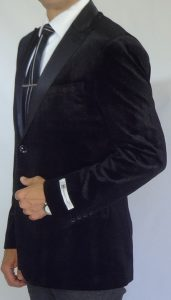 Giovanni Testi black sports jacket 306 side image