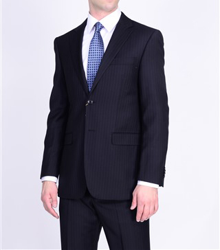 Mantoni black and navy suits