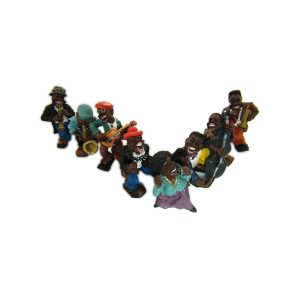 statue jazz musician band collection