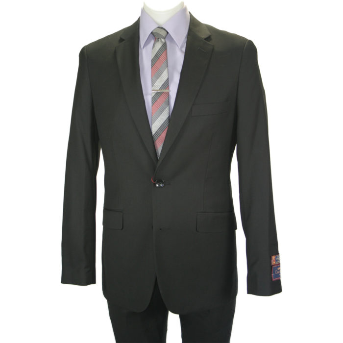 Carlo Lusso Poly Rayon business slim-fit suit