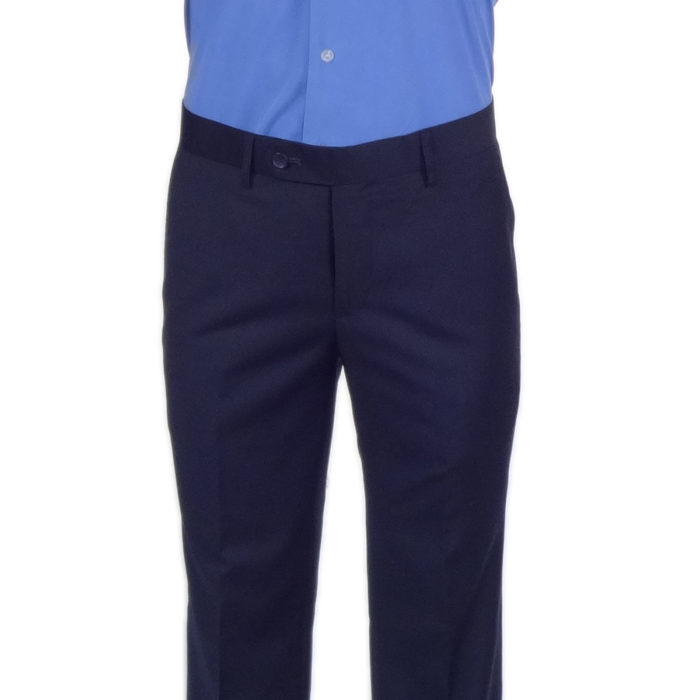 Carlo Lusso Poly Rayon business Navy Trouser
