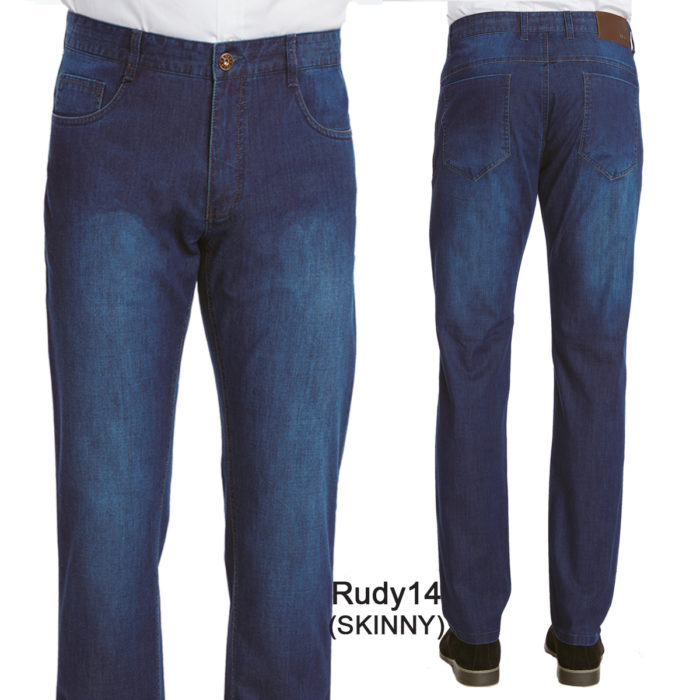 Enzo denim blue jeans 100% cotton