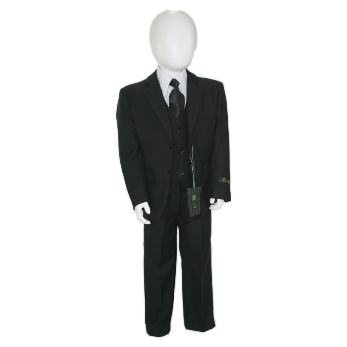 kids set suit front view