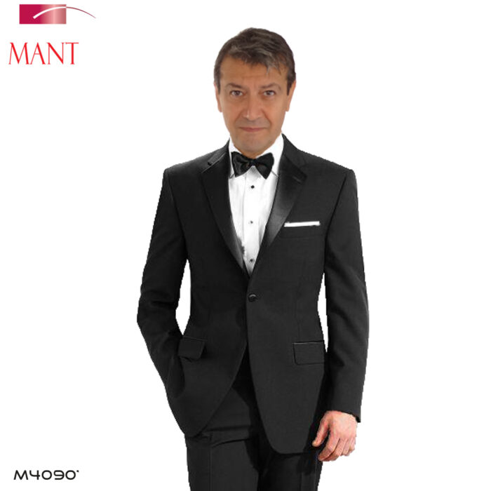 Mantoni-1 button Black Tuxedo