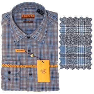 Enzo contemporary Men sport Shirt 100% Cotton