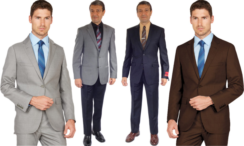 men's fashion in business world.