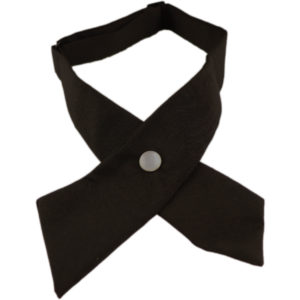 Black Bow Tie Cross formal Look