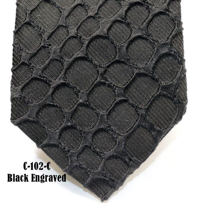 Reptile Skin Necktie C102-C